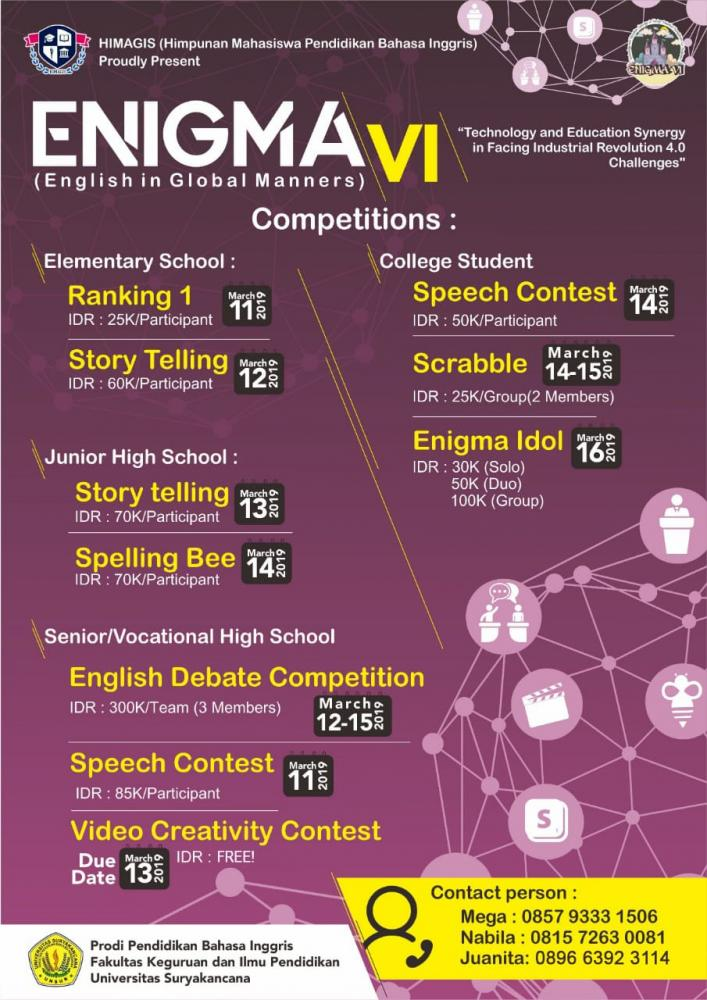 ENIGMA VI (English In Global Manners)