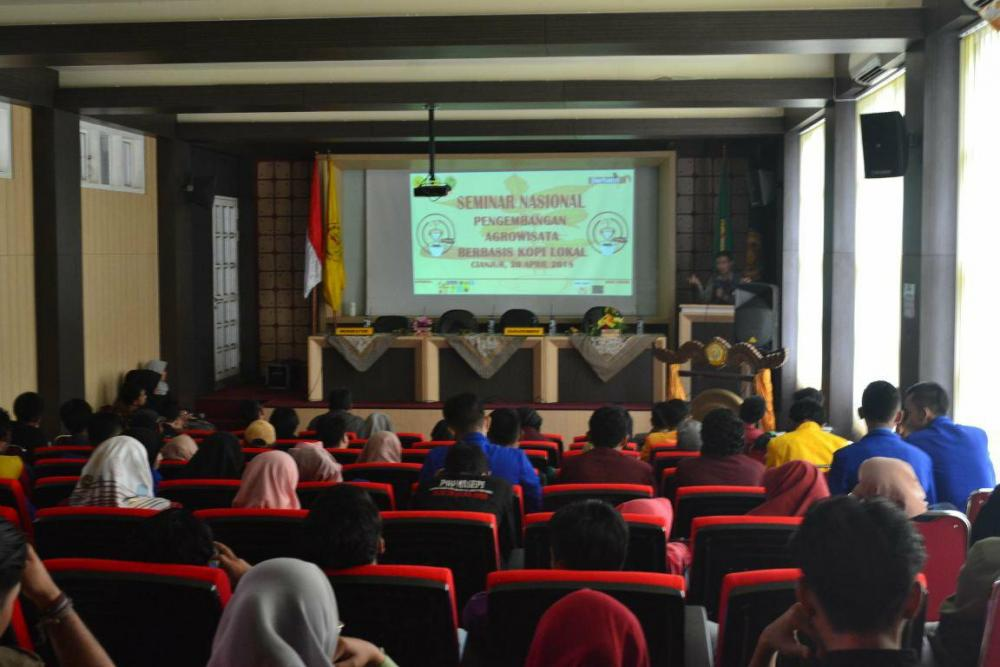SEMINAR NASIONAL Development Of Local Coffee Based Agroturism