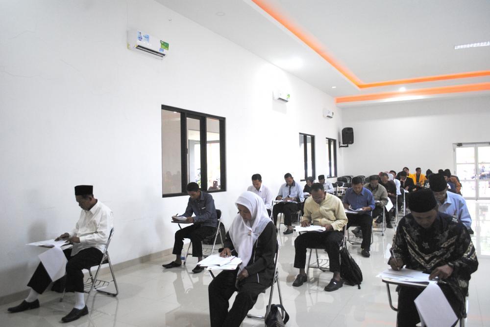 Fasilitator Test Akademik Calon Kepala Desa