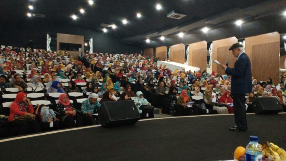 Antusiasme  Para  Guru di  Lokakarya MGMP Kab  Purwakarta