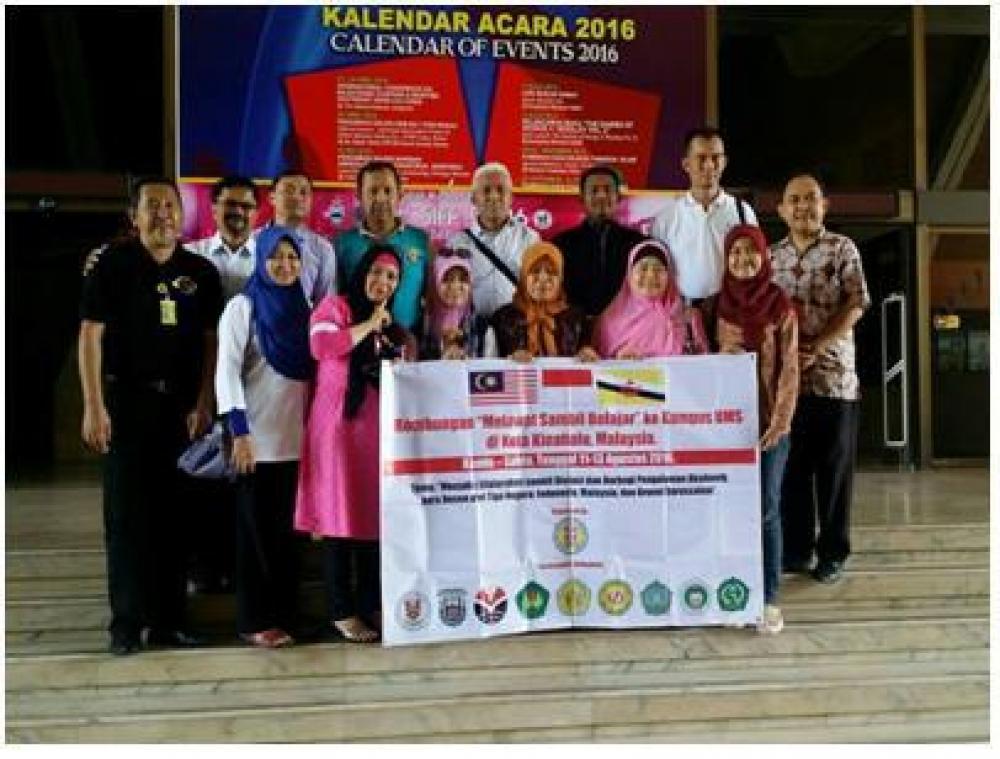 Lawatan ke Kampus UMS di Kota Kinabalu, Malaysia