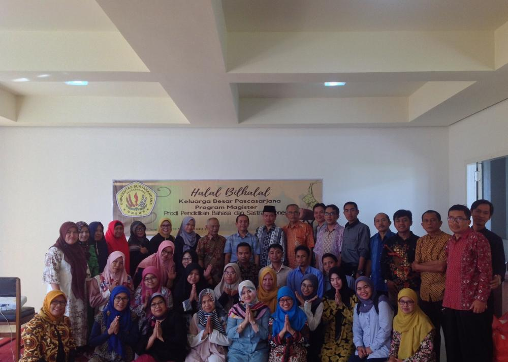 Halal Bil Halal Keluarga Besar Pascasarjana MPBI