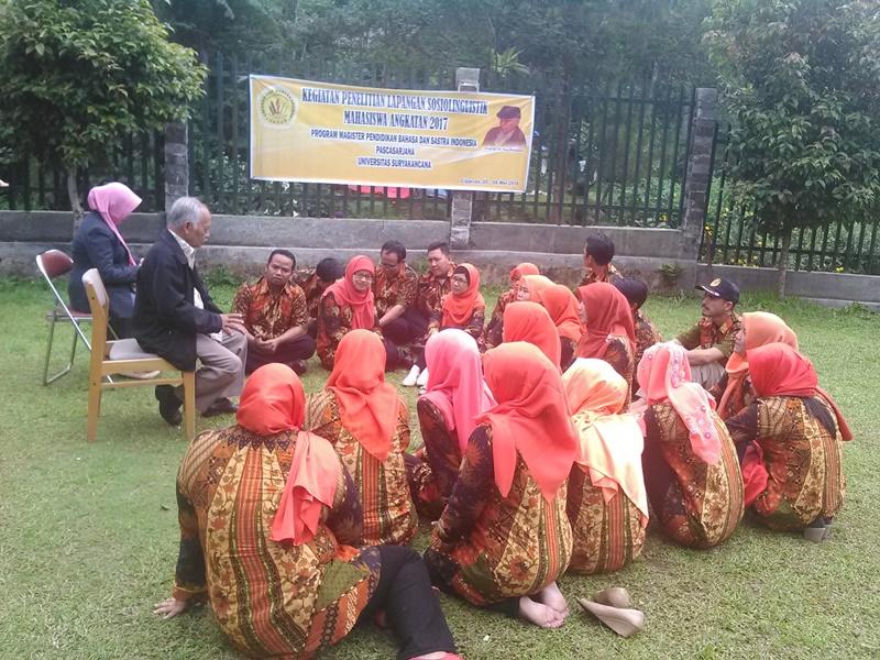 Sosiolinguistik Desa Rarahan Cipanas