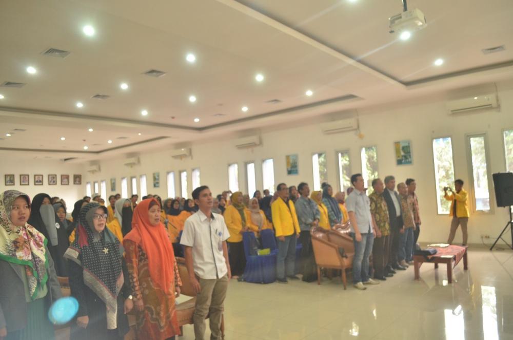 Berkunjung ke Badan Pengembangan Bahasa dan Perbukuan, Rawamangun, Jakarta