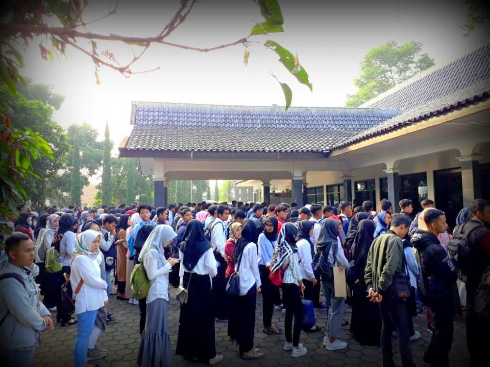 Tes PMB Gelombang 2 Tahun Akademik 2018-2019 di Ikuti 672 mahasiswa/mahasiswi