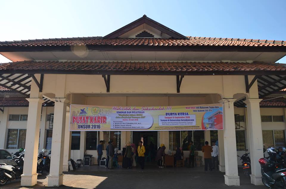 Penyelenggaraan seminar dan pelatihan pusat karir unsur 2016