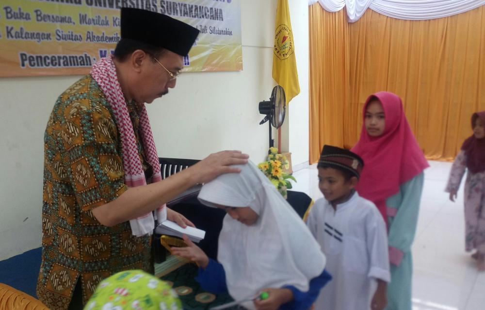 Buka Bersama dan Santunan pada 260 Anak Yatim