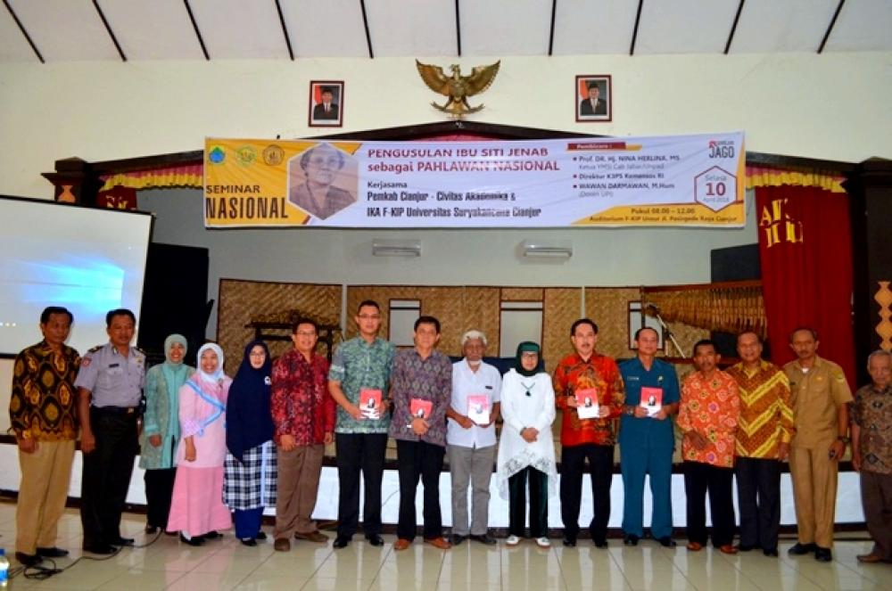 Seminar Nasional Pengusulan Ibu Siti Jenab sebagai Pahlawan Nasional