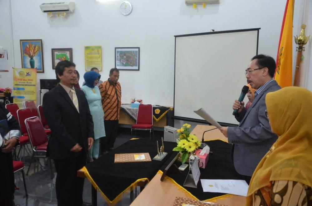 Rektor Lantik Wakil Dekan II FASTER