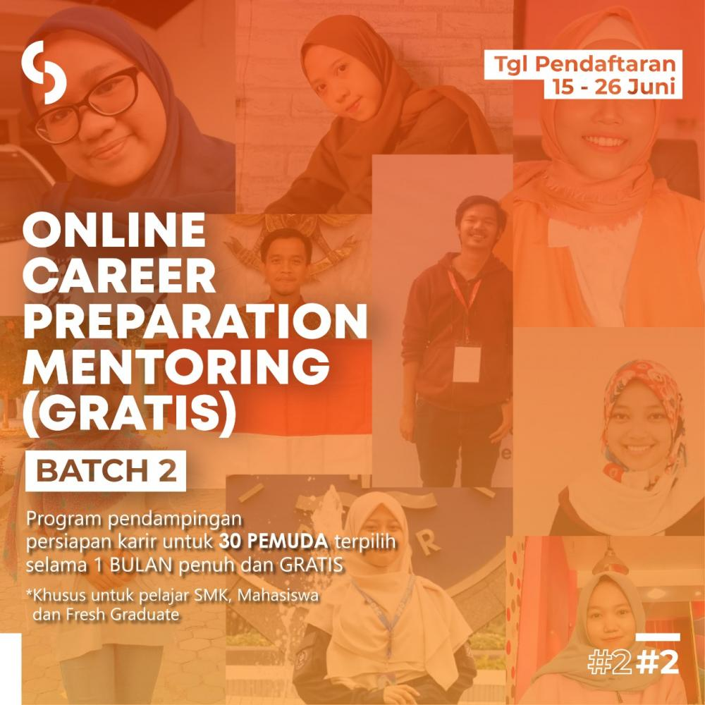 Online Career Preparation Mentoring (Gratis)