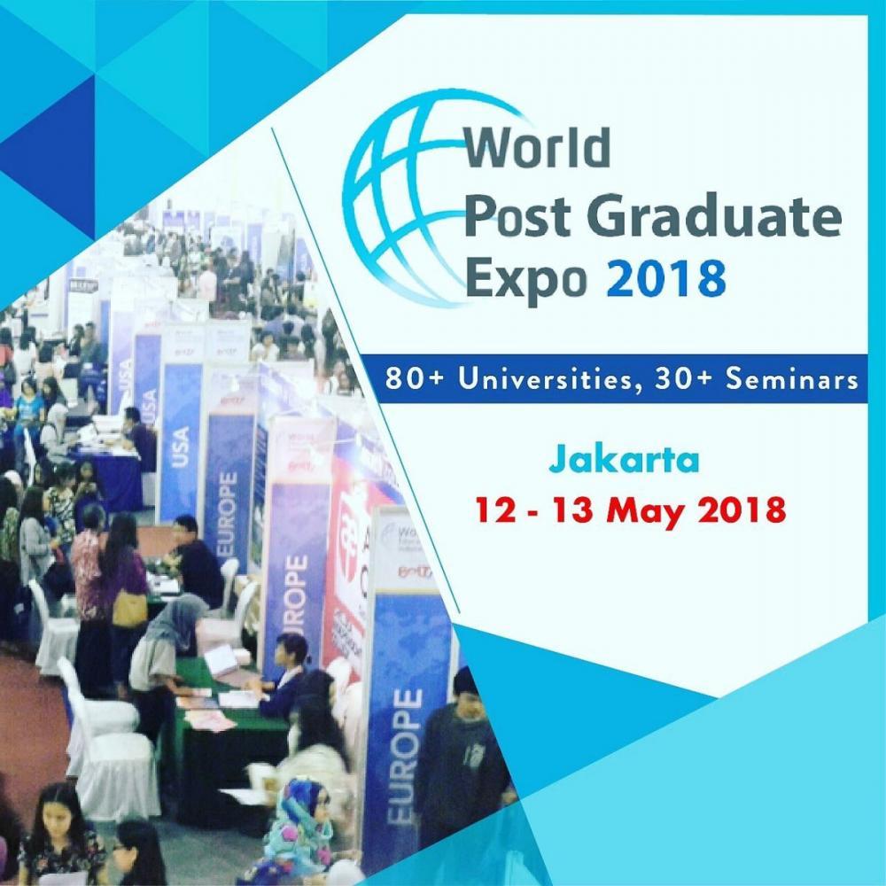 World Postgraduate Expo 2018 (Pameran Pendidikan Pascasarjana)