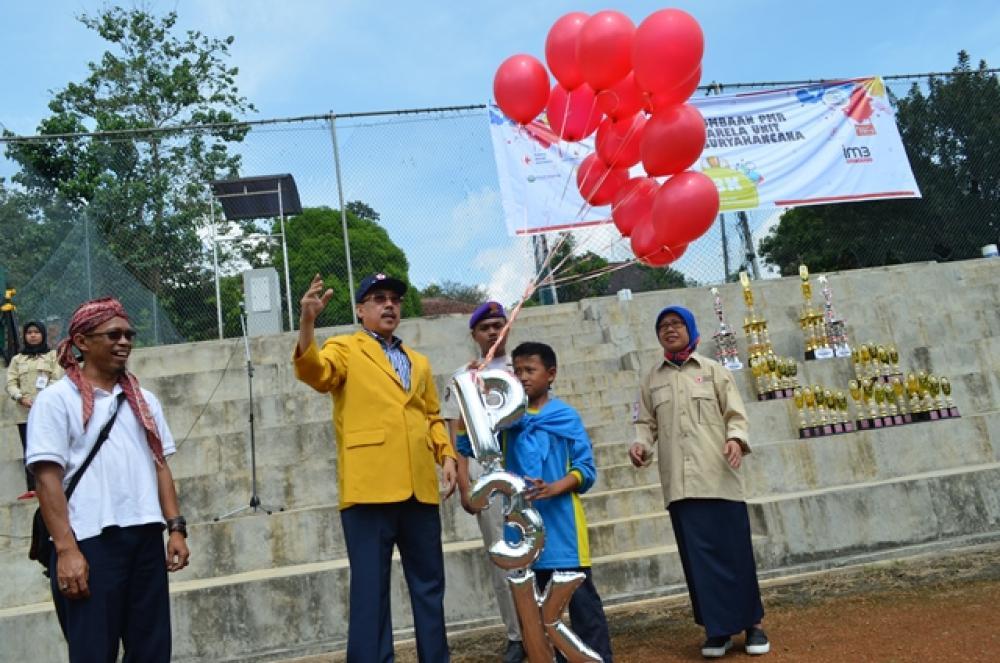 Pekan Perlombaan PMR Korps Sukarela Unit Universitas Suryakancana