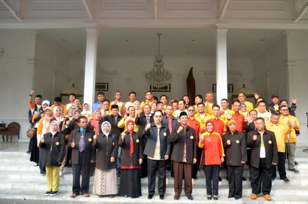 Pelepasan Mahasiswa/Mahasiswi KKN XVI Universitas Suryakancana Tahun 2018