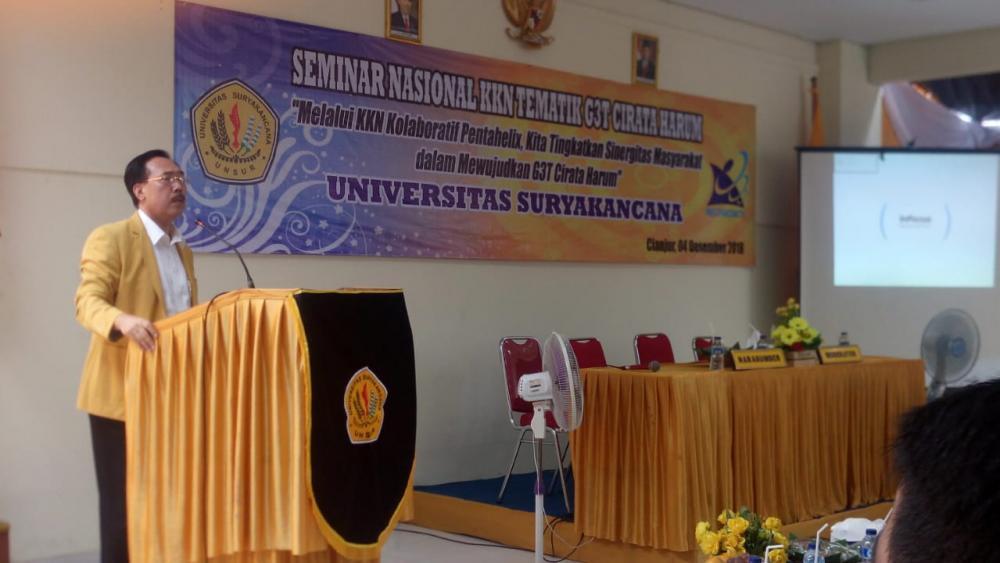 Seminar Nasional Hasil KKN Tematik G3T Citarum Harum