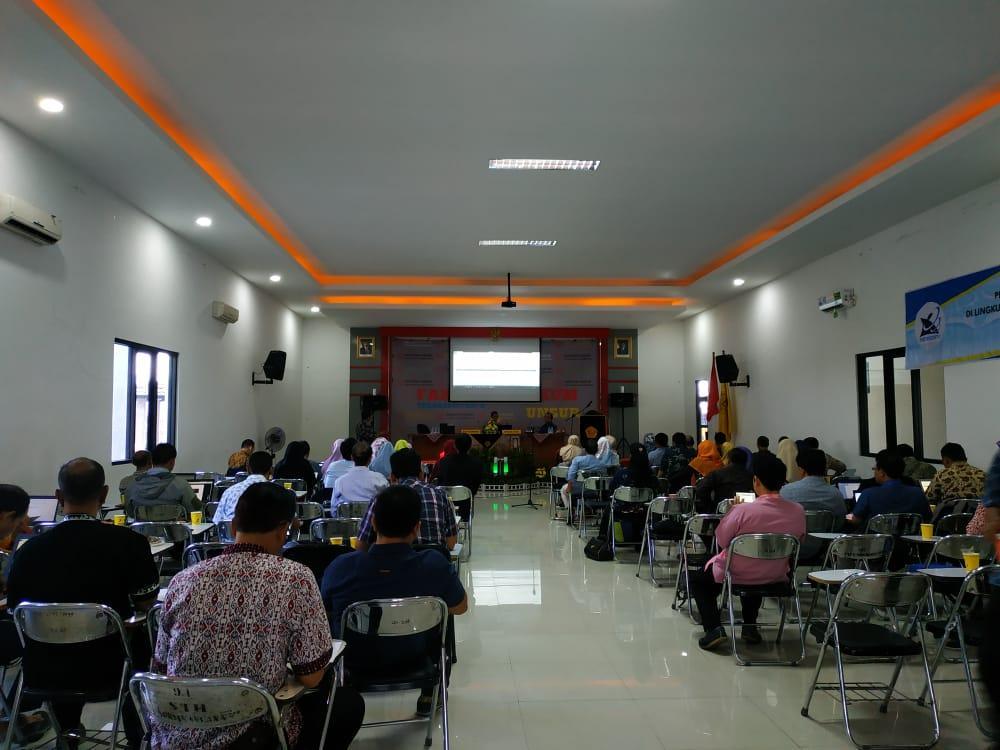 Hari Kedua Unsur Tuan Rumah Bimtek Penyusunan Statuta PT se Wilayah Bogor, Cianjur, Sukabumi, Bekasi dan Depok