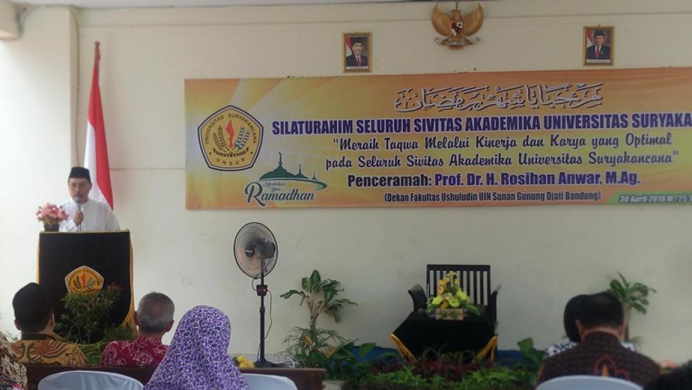 Silaturahmi Sivitas Unsur Jelang Ramadhan 1440 H