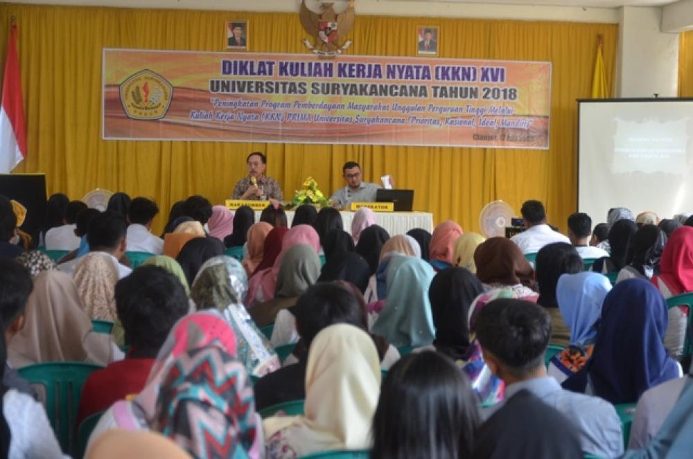 Diklat Mahasiswa Kuliah Kerja Nyata (KKN) XVI Tahun 2018