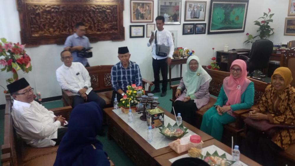 Unsur Terima Kunjungan Plt Bupati Cianjur