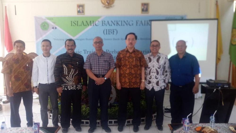 Rektor Buka Islamic Banking Fair 2019 Perbankan Syariah FEBI