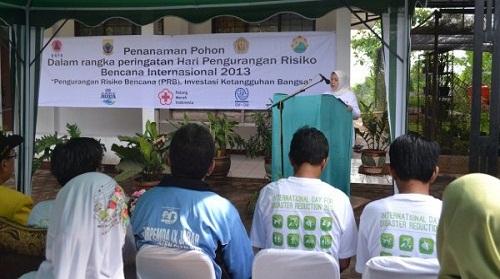 Penanaman Pohon Dalam Rangka Peringatan Hari Pengurangan Resiko Bencana International 2013