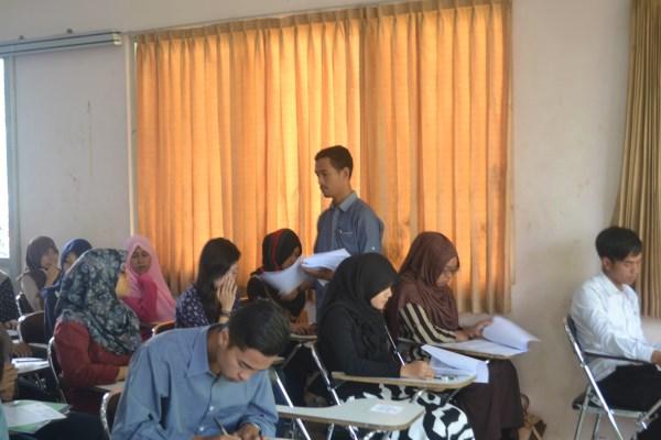 SELEKSI PENERIMAAN MAHASISWA BARU UNSUR GEL 1 TAHUN 2015
